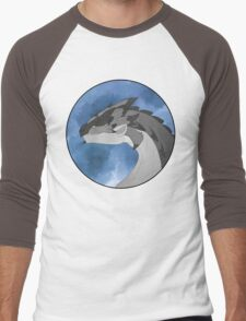 Silver Rathalos Portrait Men's Baseball ¾ T-Shirt
