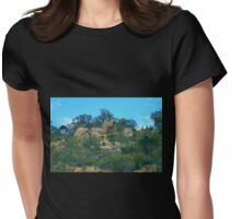Abstract Nature Womens Fitted T-Shirt