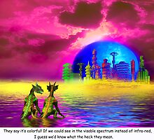 Reptilians' Lament by Nadya Johnson