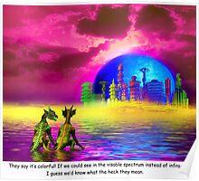 Reptilians' Lament Poster