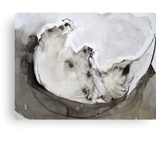 Ink Painting Canvas Print
