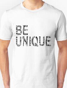 BE UNIQUE- White Unisex T-Shirt