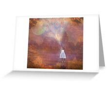 Off To Fairyland (By Way Of Fairyloons) Greeting Card