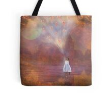 Off To Fairyland (By Way Of Fairyloons) Tote Bag