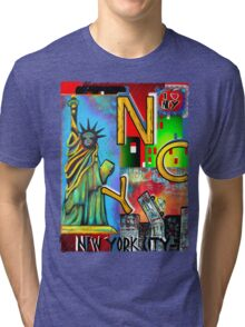 New York City - NYC Tri-blend T-Shirt