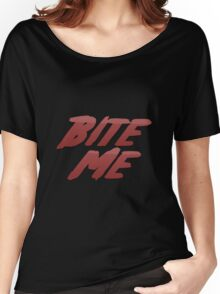 Bite Me Records Women's Relaxed Fit T-Shirt