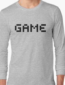 It's All About The Game Long Sleeve T-Shirt