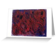 Dark Watercolor Greeting Card