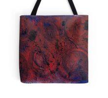 Dark Watercolor Tote Bag