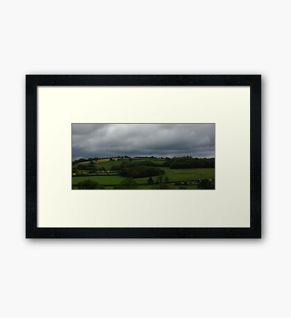 Black Mountains Wales Framed Print
