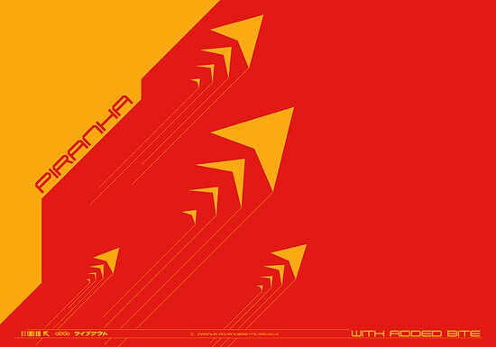 Wipeout Piranha Advancements Poster by Tgarncarz