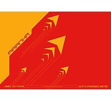 Wipeout Piranha Advancements Poster Photographic Print