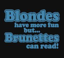 Blondes Vs Brunettes  by VirtualMan