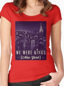 We Were Kings Retro Women's Fitted Scoop T-Shirt
