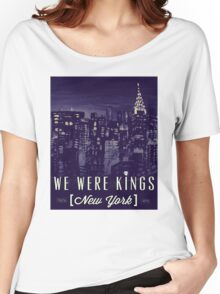 We Were Kings Retro Women's Relaxed Fit T-Shirt
