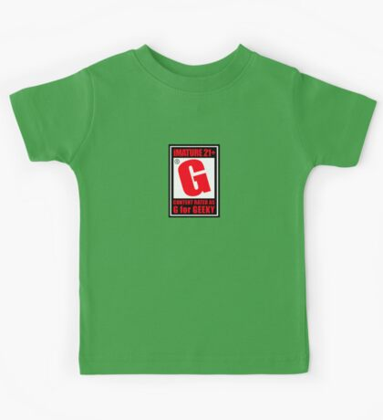 G is for Geek Kids Tee