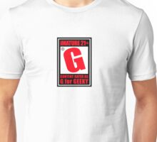 G is for Geek Unisex T-Shirt