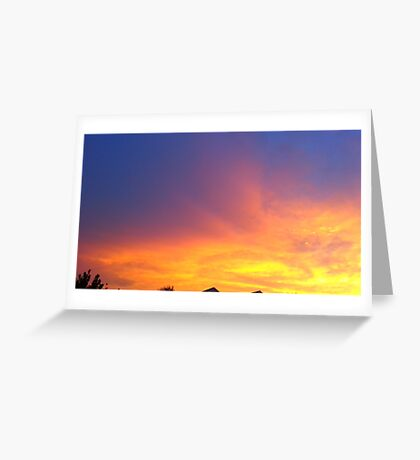 Fire & Ice  Greeting Card