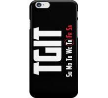 TGIT iPhone Case/Skin