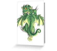 D is for Dragon! Greeting Card