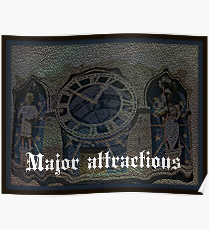 major attractions Poster