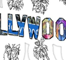 Hollywood, Los Angeles - City Tees Challenge Sticker