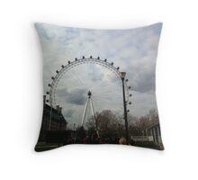 The Eye of London Throw Pillow