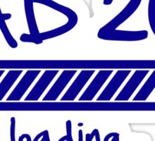 Dad 2014 loading... Sticker