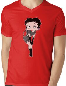 BoopBuster (Breast Cancer Edition) Mens V-Neck T-Shirt
