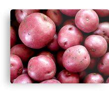 Red Potatoes Metal Print