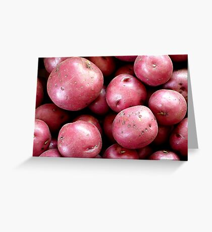 Red Potatoes Greeting Card