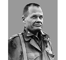 """General Lewis """"Chesty"""" Puller Photographic Print"""
