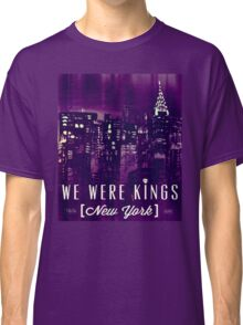 We Were Kings Purple Classic T-Shirt