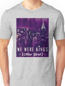 We Were Kings Purple Unisex T-Shirt