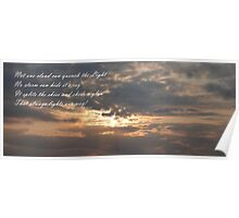 Sunset over Whithorn Poster