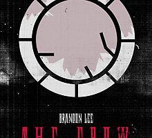 The Crow minimalist alternative movie poster by Munkhai