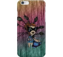 Burlie Q on the line iPhone Case/Skin