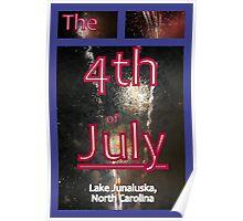 Lake Junaluska, NC FIreworks Poster