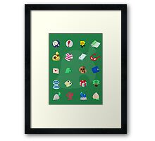 Animal Crossing: Your Pockets Are Full Framed Print