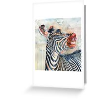More Than Just Black and White Greeting Card