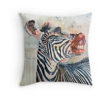 More Than Just Black and White Throw Pillow