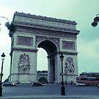 L'arch de Triomphe by identit3a