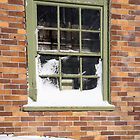 snowy window  by Anne Scantlebury