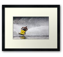 Break on Through Framed Print