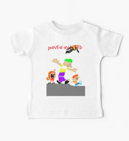 Phineas and Ferb Baby Tee