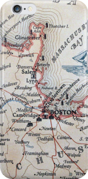 Cartography / boston by Andrew Pfendler