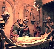Jesus on Deathbed by identit3a