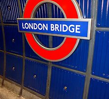 london bridge station by maydaze