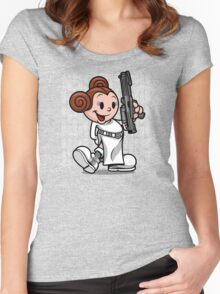 Vintage Leia Women's Fitted Scoop T-Shirt
