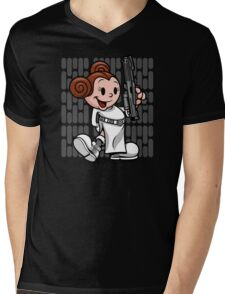 Vintage Leia Mens V-Neck T-Shirt